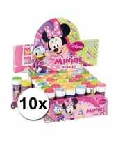 Grabbelton 10x minnie mouse bellenblaas cadeautjes