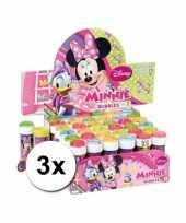 Grabbelton 3x minnie mouse bellenblaas cadeautjes