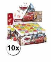 Grabbelton voordelige cars bellenblazen set 10x cadeautjes
